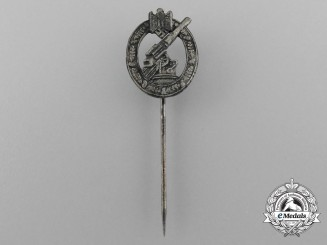 A Wehrmacht Army Flak/Artillery Badge Miniature Stickpin