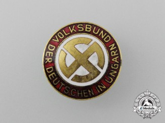 A People's League of German Hungarians Badge