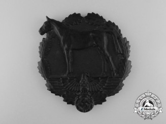 An SA-German Equestrian Youth Meritorious Performance Prize Plaque