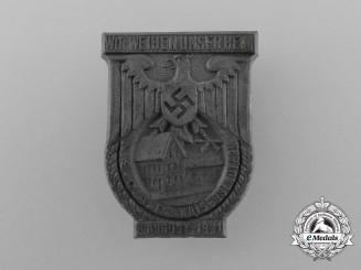 A 1931 NSDAP Kaiserslautern Consecration Ceremony Badge
