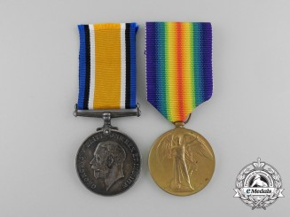 A First War Pair to the 60th Canadian Infantry