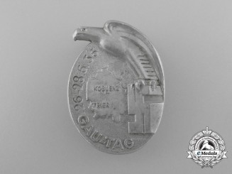 A 1936 Koblenz District Day Celebration Badge