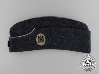 A Second War Deutsches Rotes Kreuz (DKR) Officer's Overseas Cap