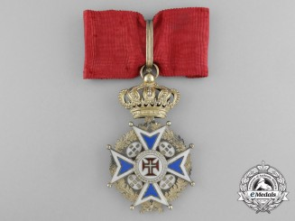 An Early Portuguese Military Order of Christ; Commander 1844-1910
