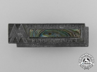 An Interesting 1941 Leipzig Fall Exhibition Badge; Numbered