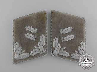A Set of Army Forestry Service Revierförster Collar Tabs