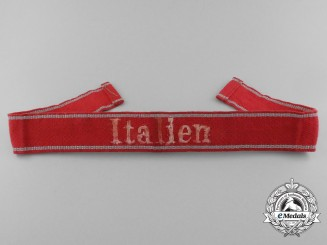 "A Second War Italian Cufftitle ""Italien"""