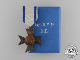 Bavaria, Kingdom. A Military Merit Cross, 3rd Class without Swords & Case