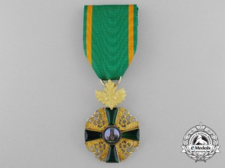 A Baden Order of the Lion of Zahringen in Gold; Knight 1st Class with Oak Leaves