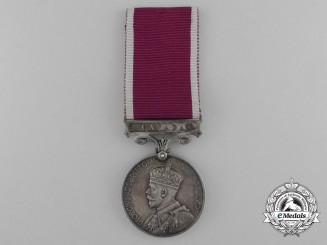 Army Long Service and Good Conduct Medal to the Royal Canadian Regiment