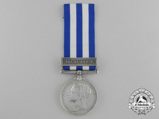 An 1882 Egypt Medal to the Duke of Connaught Light Infantry