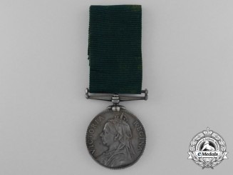 A Volunteer Long Service and Good Conduct Medal to the Royal Scots