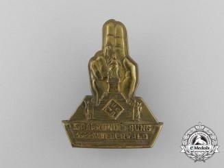 A 1933 Niederwald-Saar Rally Badge