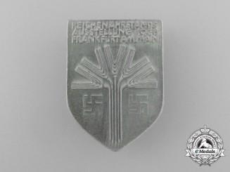 A 1936 Frankfurt Reichsnährstand Exhibition Badge