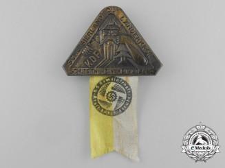"""A Third Reich Period KDF """"Silesia, my Homeland"""" Silesian Patriotic Badge"""