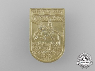 A 1938 KDF 650th Anniversary of the Battle at Worringen Badge
