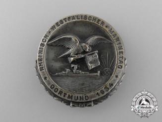 "A 1934 Rheinland-Westfalen ""Day of the Marine"" Badge"