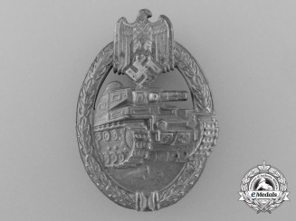 A Mint Silver Grade Tank Badge