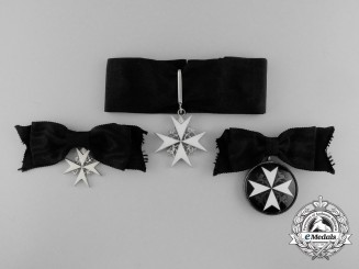 A Group of Three Order of St. John Ladies' Badges