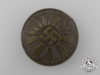 A 1933 German Summer Solstice Badge