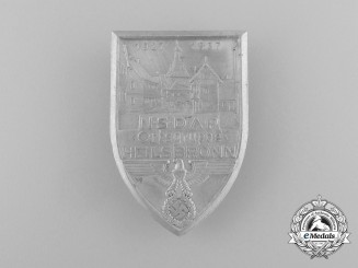 A 1937 NSDAP Heilsbronn Region Meeting Badge