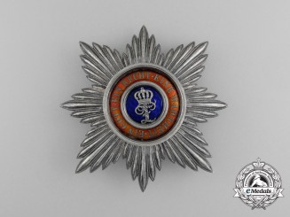 An Oldenburg House & Merit Order of Duke Peter Frederick Louis; Grand Cross Breast Star