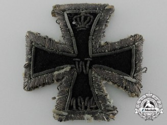 Germany, Imperial. An Iron Cross 1914, I Class, Embroidered Version