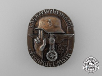 "A 1936 Frankfurt am Main ""Day of the Wehrmacht"" Badge"