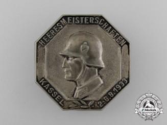A 1933 Kassel Wehrmacht Heer Championships Badge