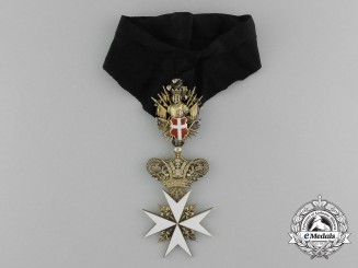 An Austrian Order of the Knights of Malta; Commander Cross