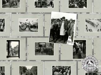 Germany, DAF. A 1935 Collection of 17 Large Photographs of the German Labour Front