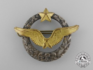 A Second War French Army Air Pilot's Qualification Badge