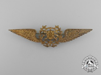 A Second War Era Portuguese Pilot's Badge