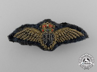 A Second War Royal Air Force (RAF) Bullion Pilot Mess Wing