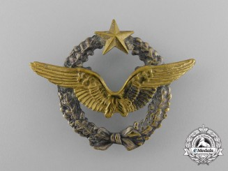 A Second War French Army Air Pilot Qualification Badge