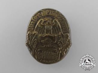 "A 1934 Saar ""Our Germany"" Rally Badge"