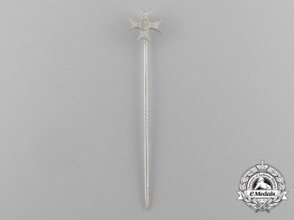 A War Merit Cross First Class without Swords Miniature Stick Pin
