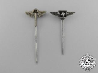 Two German Stickpins