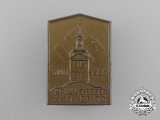 A 1936 Stötteritz Home-Festival Badge