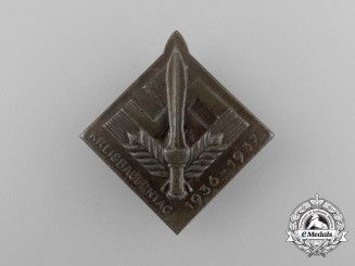 A 1936/37Reichsnährstand Regional Day of Farmer's Badge