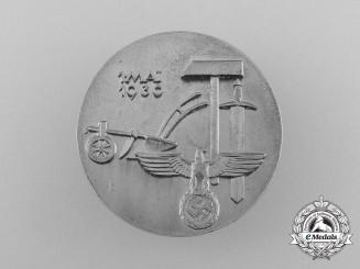A 1936 May-Day (May 1st) Celebration Badge