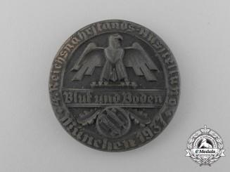 A 1937 Reichsnährstand/Blood and Soil Munich Exhibition Medal