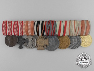 A First War Austrian Medal Group