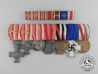 A First War Austrian & Faithful Service Award Grouping