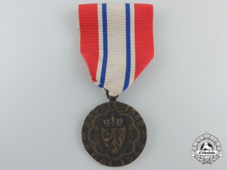 A Norwegian Battle of Narvik Participation Medal