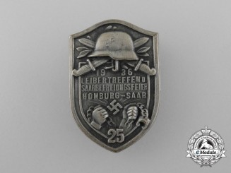 "A 1936 ""25-Year Anniversary of the Liberation of the District Saar"" Badge"