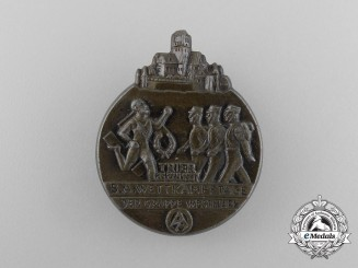 A 1937 SA Group Westmark/Trier Sports Championships Badge