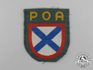 A Second War Russian Volunteer Army (POA) Sleeve Shield