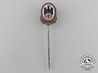 A 1934 D.D.A.C German Automobile Club Membership Stick Pin by Christian Lauer
