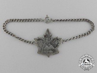 A Canadian Second War RCAF Middle Eastern Theatre ID Bracelet